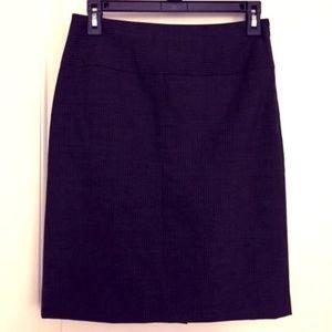 Banana Republic Pinstripe Suit Skirt